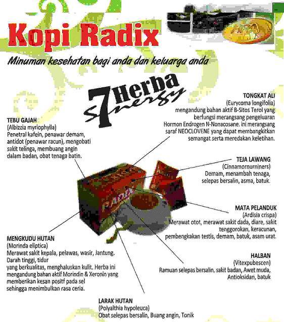 Kopi Radix HPA - wikuherba@gmail.com